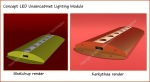 Sketchup & Kerkythea Light Fixture Renderings. Image Copyright (c) 2008 International Light Technologies