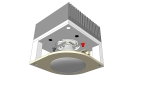 Concept Sketch Universal High-Power LED Module Downlight fixture - top
