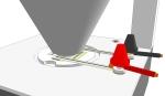 Concept Sketch Universal High-Power LED Module Downlight fixture - closeup