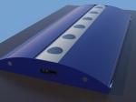 Concept LED Undercabinet light fixture - blue
