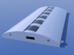 Concept LED Undercabinet light fixture - white